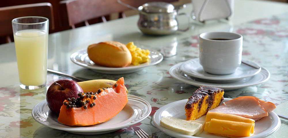 Hotel Sesc Nogueira café da manhã
