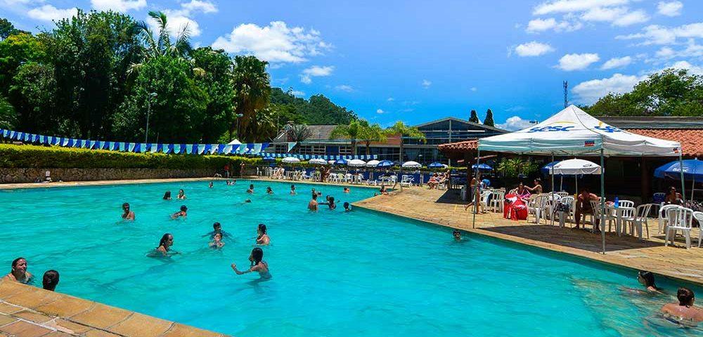 Sesc Nova Friburgo piscina