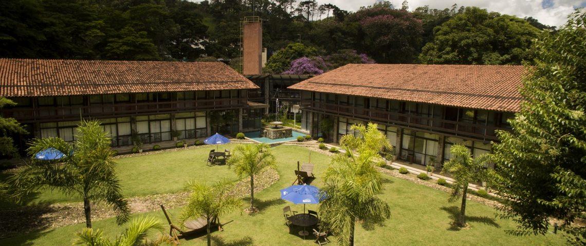 Hotel Sesc Friburgo - Vista aérea