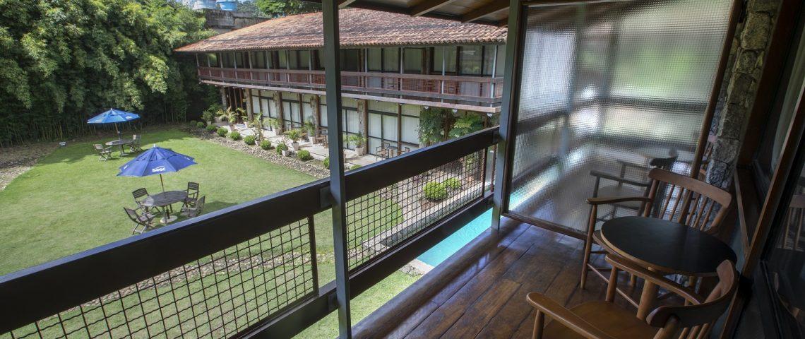 Hotel Sesc Friburgo - vista do quarto