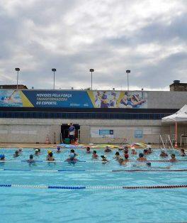 sesc piscina recreação parque aquático