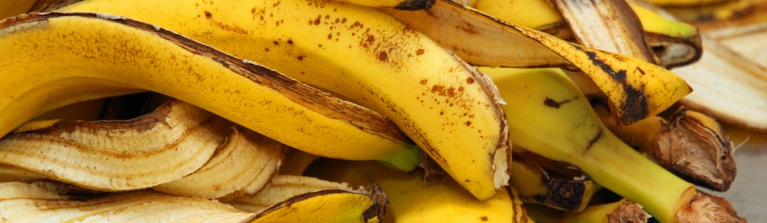 Foto de casca de banana - Receita Mesa Brasil