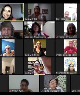 Café da Tarde Virtual - TSI - Idosos Sesc Copacabana