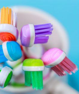escovação de dente