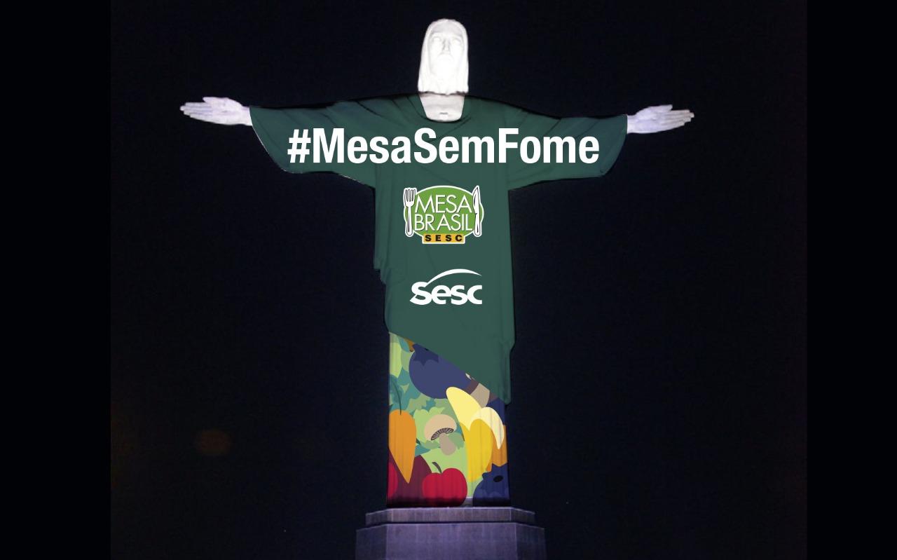 Mesa Brasil sem fome - live no cristo - grande