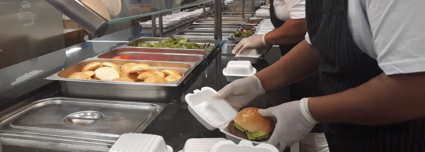 Mesa sem Fome: distribuição de alimentos