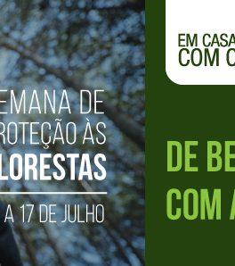 E-book De Bem com a Mata em comemoração ao Dia de Proteção às Florestas, do Sesc RJ