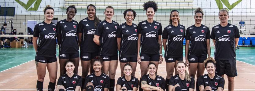 Sesc RJ Flamengo anuncia elenco para a temporada
