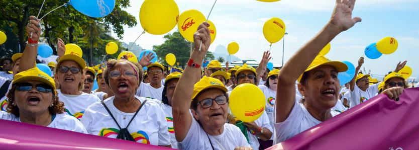 Caminhada de Copacabana será virtual com programação ao longo de outubro