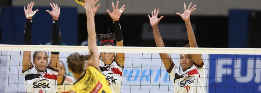 Sesc RJ Flamengo é superado pelo Dentil Praia Clube na Supercopa