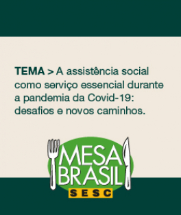 Mesa Sesc Brasil apresenta o II Seminário de Serviço Social