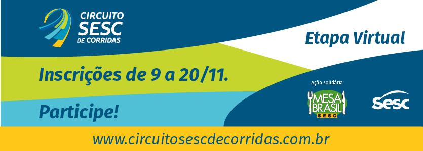 Circuito Sesc de Corrida, Etapa Virtual