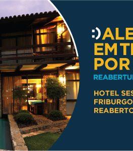 Hotel Sesc Nova Friburgo reabre dia 13/11