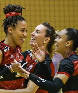Sesc RJ Flamengo estreia na Superliga Banco do Brasil Foto: Wander Roberto/Inovafoto/CBV