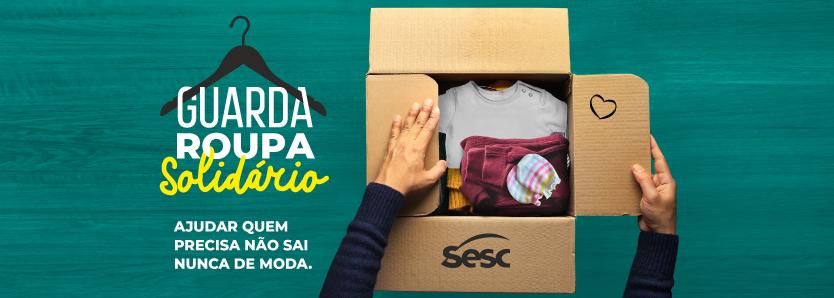 Cidade de Deus e Complexo do Alemão vão receber guarda-roupas solidários do Sesc RJ