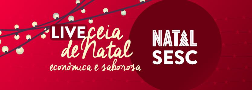 Confira receitas natalinas das nossas equipes de Nutrição e do Mesa Brasil