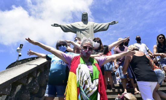 Passeio do Turismo Social ao Cristo Redentor - grupo receptivo