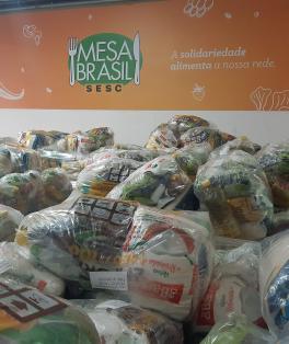 Mesa Brasil Sesc RJ - Cestas Básicas