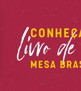 Livro de receitas do Mesa Brasil Sesc RJ 2021